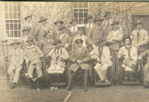 HORTON WAR HOSPITAL SURREY 4 APRIL 1917 G WARD