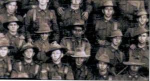 PUNCH IN GOULBURN AIF group February 1916