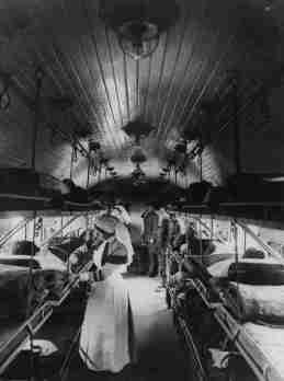 Ambulance Train. France WW1