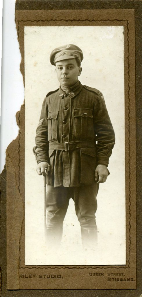 Arthur Quong Tart wounded at Pozieres courtesy Lois McEvoy