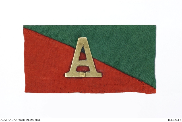 A FOR ANZAC BADGEC AWM